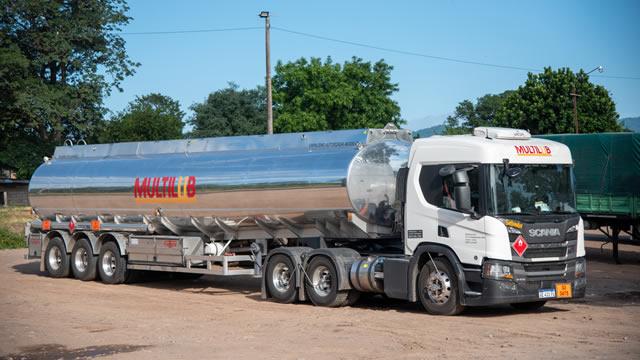 transporte de combustible shell